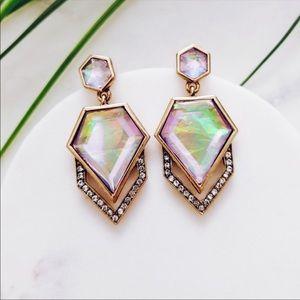 Eye Pop Multi-Color  Crystal Earrings